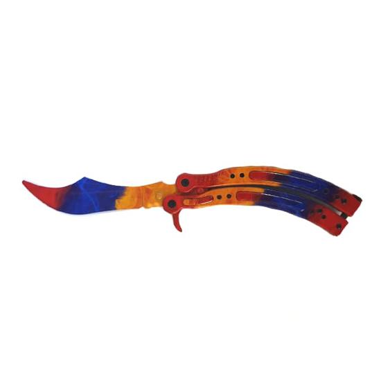 Снимка на Тренировъчен сгъваем нож пеперуда Z-51T | 23см.