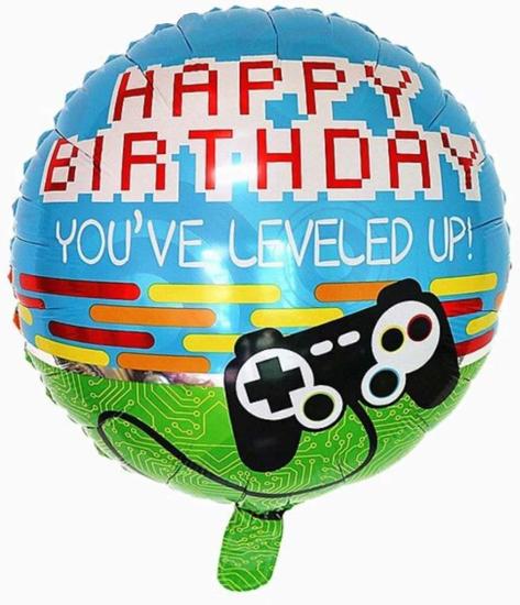 Снимка на Фолиев балон Happy Birthday Game 45см.