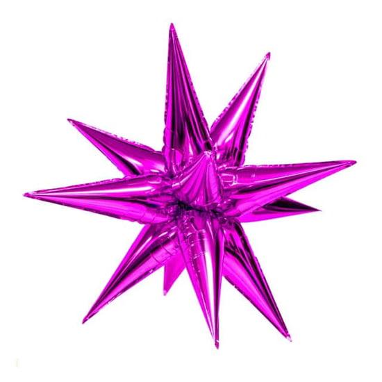 foliev-balon-zvezda-4d-ciklamen