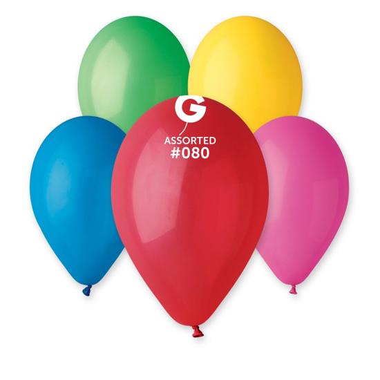 Снимка на Балони микс от цветове 26см. 100 броя